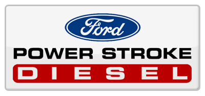 ford powerstroke engine logo